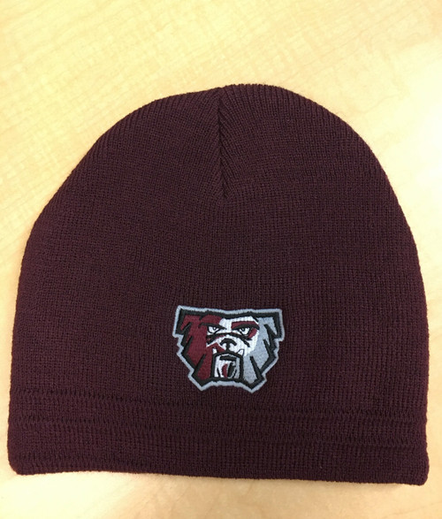 new bulldog logo beanie hat.  Best Seller!!!