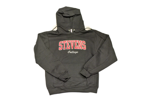 Embroidered Stevens Hooded Sweatshirt