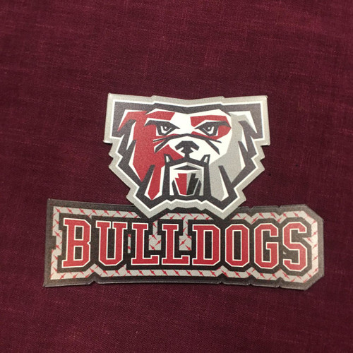 Bulldog Sports Logo Magnet