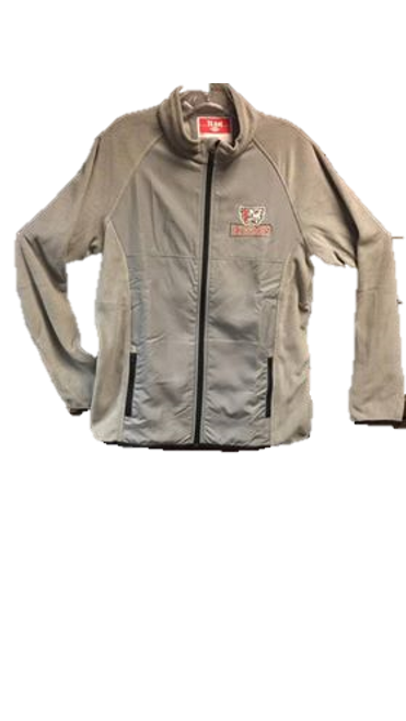 Ladies' Fleece Jacket - Grey