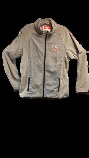Ladies' Fleece Jacket - Grey