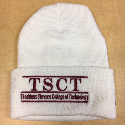 Knit beanie hat w/TSCT (multiple colors)
