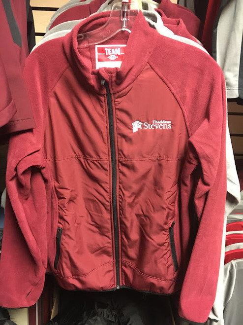 Ladies' Fleece Jacket - Maroon