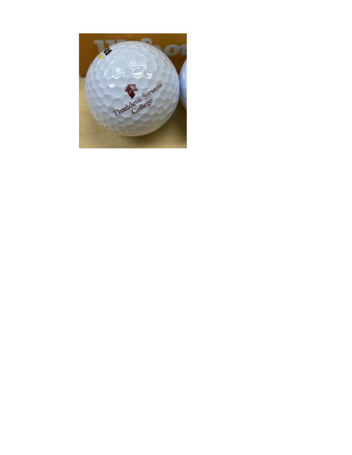 Wilson golf ball. Sold by the sleeve (3 per sleeve)