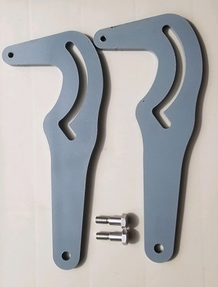 Zenith Cast Iron Rocker Arm Kit - INCLUDES TWO ROCKER ARMS & 2 BOLTS