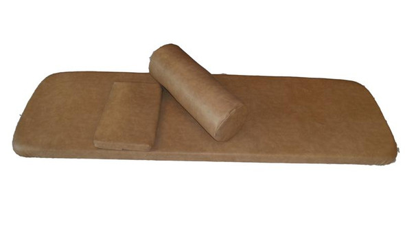 Spinalator Ist Table Top Replacement - Includes New Foam, Upholstery, Sail Cloth Kit, Head Pillow, & Leg Bolster-Sold as Kit