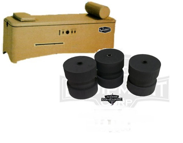 Spinalator Rollers Replacement - Electric Roller Height Elevation Table ONLY