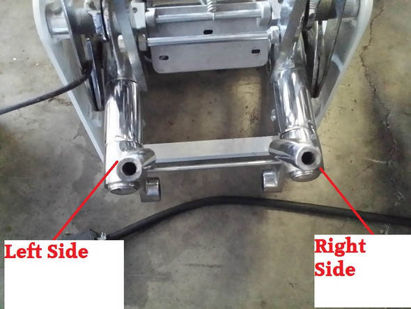 Zenith Ankle Rest Guide Support - LEFT