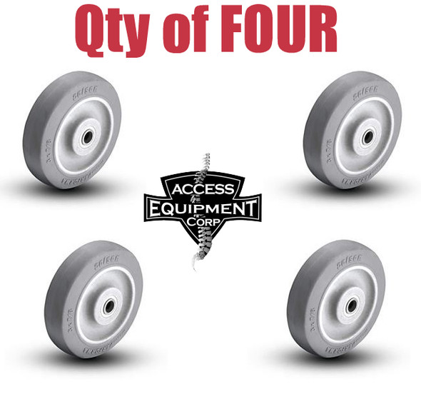 ATT300 Replacement Carriage Wheel - Set of FOUR Wheels & bearings