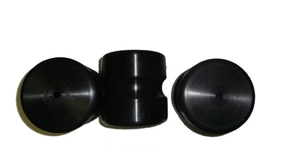 ATT 300 Solid UHMW Plastic Replacement Rollers - Old Style