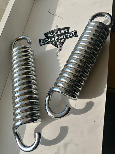 Used Barnes Factory Chrome Flexion Springs - SOLD PER SET