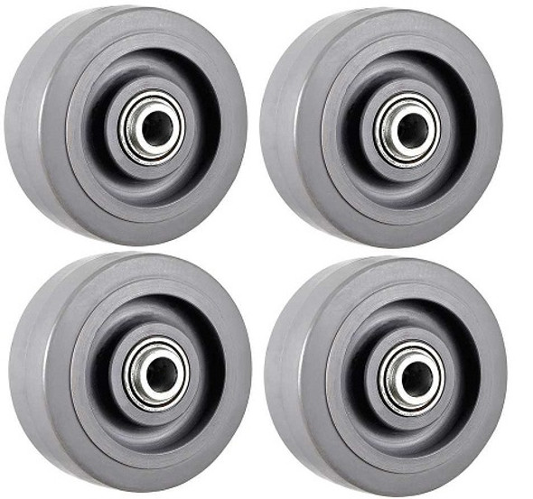 Chattanooga DTS 600 Wheels - Qty of 4