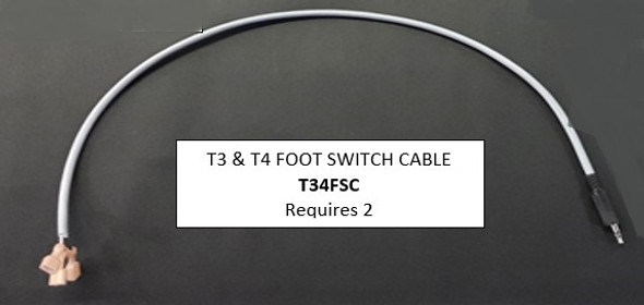 Dynatron T3/T4 Foot Switch Cable