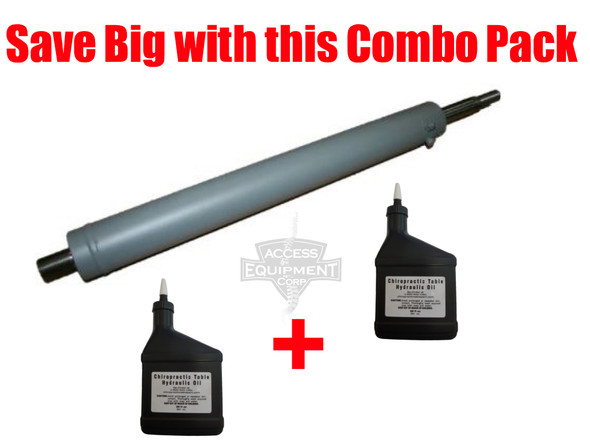 Zenith Cast Iron Hydraulic Cylinder & Oil Combo Kit
