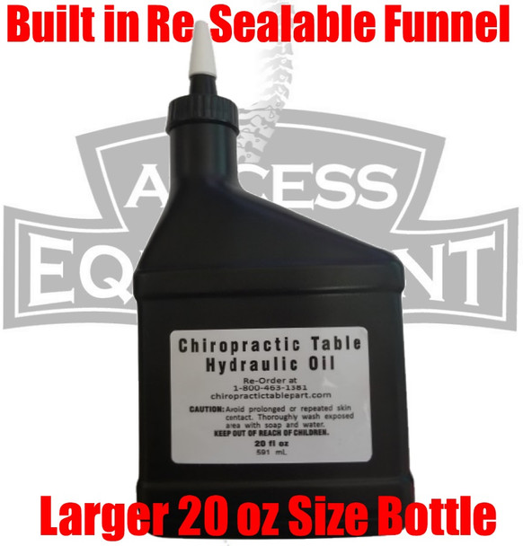 Zenith Chiropractic Table Hydraulic Oil