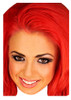Holly red hair geordie shore celebrity party face fancy dress