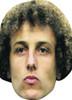 David Luiz Football 2018 Celebrity Face Mask