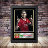 Personalised Signed Football Autograph print - Roberto Firmino - A4 A3 A2 A1 - Framed or Print Only