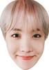 J Hope 2 - BTS Korean Music Star K POP - Music Star Fancy Dress Cardboard Celebrity Face Mask