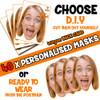 40 x PERSONALISED CUSTOM Hen Party Masks PHOTO DIY OR CUT PARTY FACE MASKS - Stag & Hen Party Facemasks