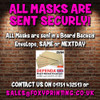 Dave coaches gavin and stacey celebrity party face fancy dress mask