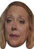 Carole Baskin Tiger King face Actor Movie Tv celebrity Party Face Fancy Dress