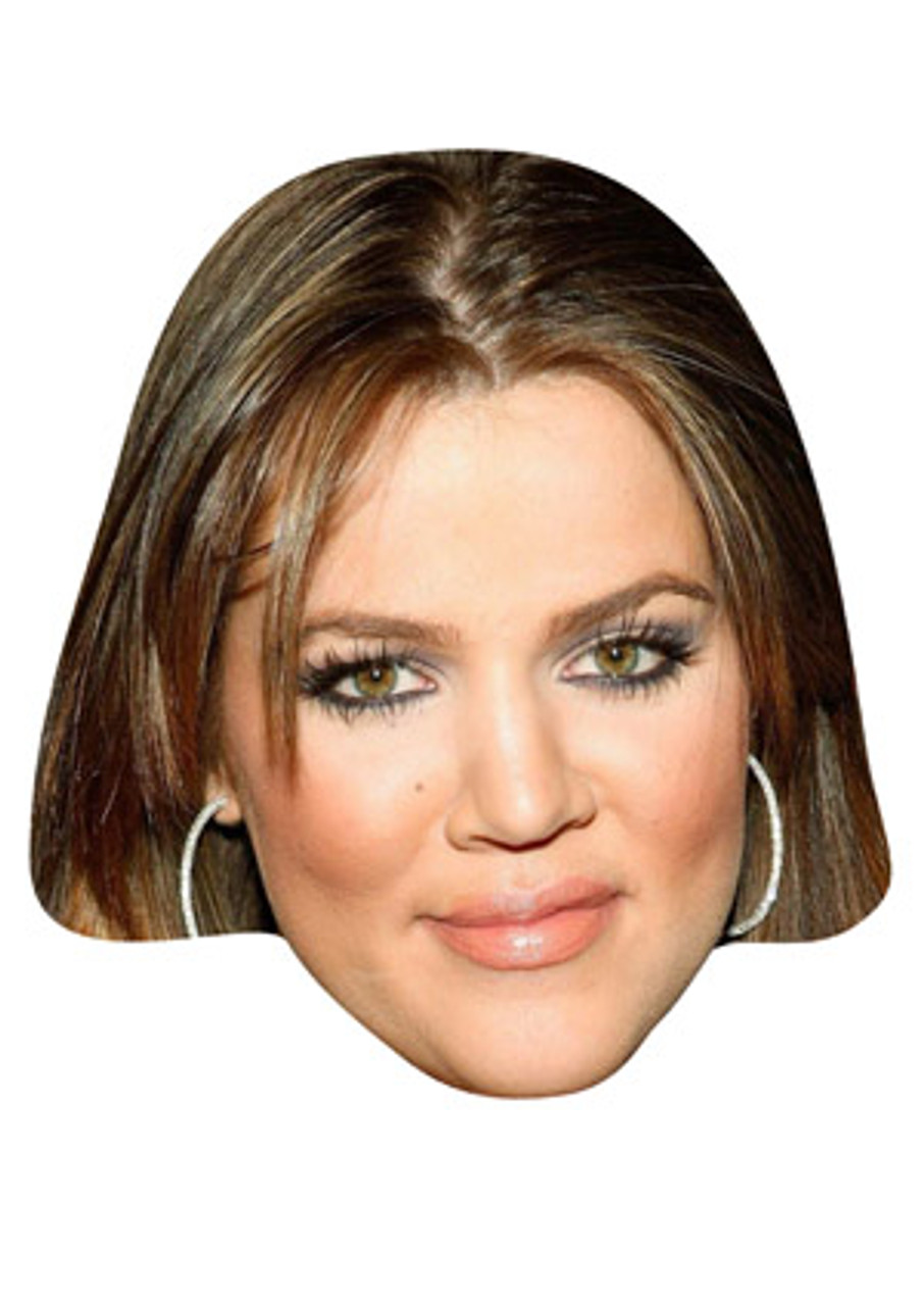 Kris Jenner Celebrity Mask Card Face and Fancy Dress Mask