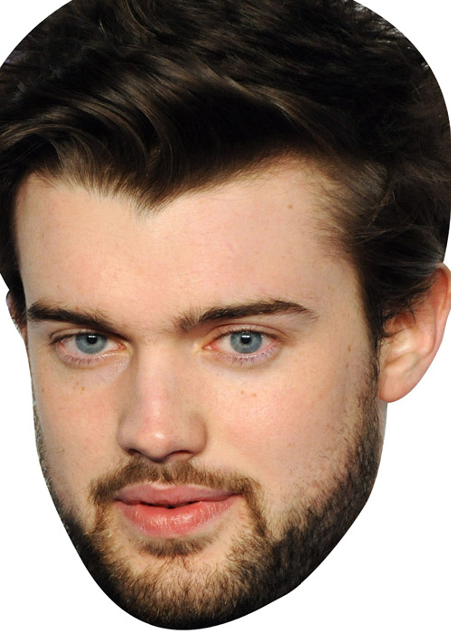 Jack Whitehall Celebrity Mask Card Face and Fancy Dress Mask