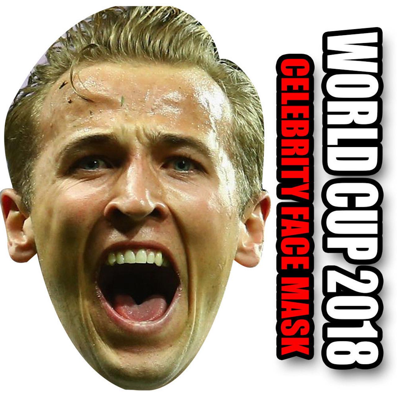 Cardboard Face Mask World Cup 2018 Harry Kane