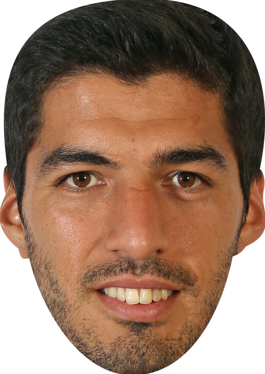 Card Face and Fancy Dress Mask Jose Mourinho Celebrity Mask