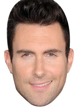 Adam Levine Celebrity Face Mask