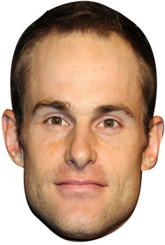 Andy Roddick Celebrity Face Mask