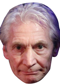 Charlie Watts Rolling Stones Celebrity Face Mask