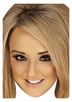 Charlotte Blonde Celebrity Face Mask