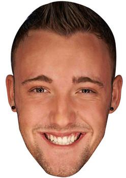 Daniel Thomas Tuck Celebrity Face Mask
