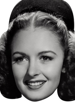 Donna Reed Celebrity Face Mask