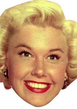 Doris Day Celebrity Face Mask