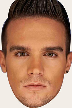 Gary Beadle Celebrity Face Mask