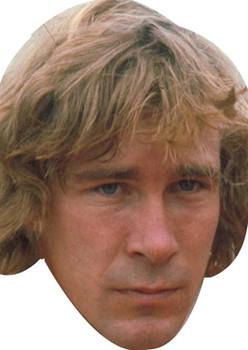James Hunt Celebrity Face Mask