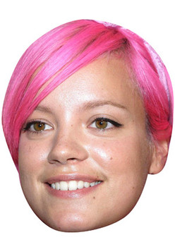 Lilly Allen Celebrity Face Mask