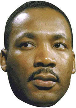 Martin Luther King Celebrity Face Mask