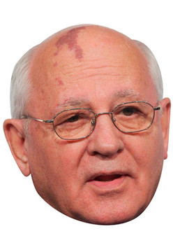 Mikhail Gorbachev Celebrity Face Mask