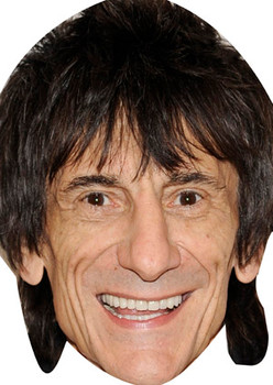 Ronnie Wood Celebrity Face Mask