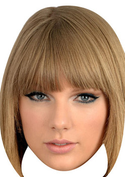 Taylor Swift Celebrity Face Mask