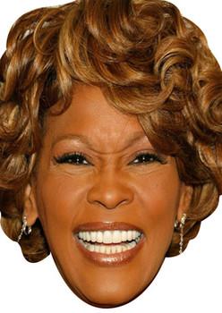 Whitney Houston Celebrity Face Mask