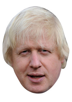 Boris Johnson 2018 Celebrity Face Mask