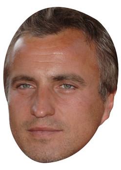 David Ginola Celebrity Face Mask