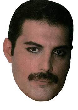 Freddie Mercury New Celebrity Face Mask