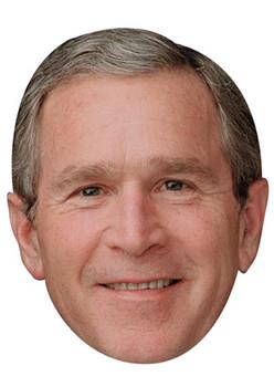 George Bush 2018 Celebrity Face Mask