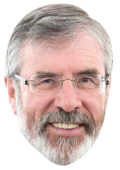 Gerry Adams Celebrity Face Mask